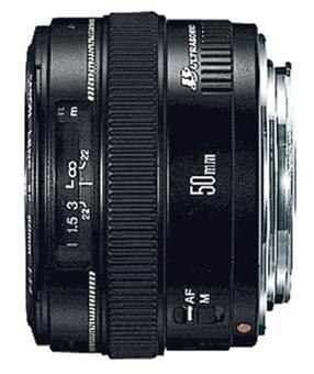 Objectif Reflex Canon EF 50 mm f/1.4 USM (via ODR de 50€) + 20€ en chèque cadeau adhérent Fnac