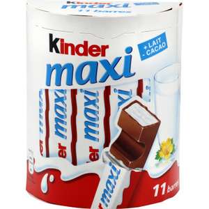 Boite de Kinder Country à 0.84€ ou Kinder Maxi x11