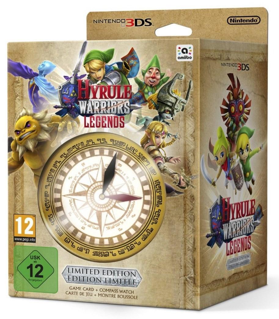 Jeu Hyrule Warriors Legends sur 3DS + 1 Montre Boussole