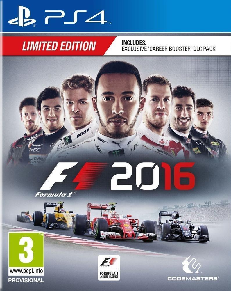 F1 2016 - Edition limitée sur PS4