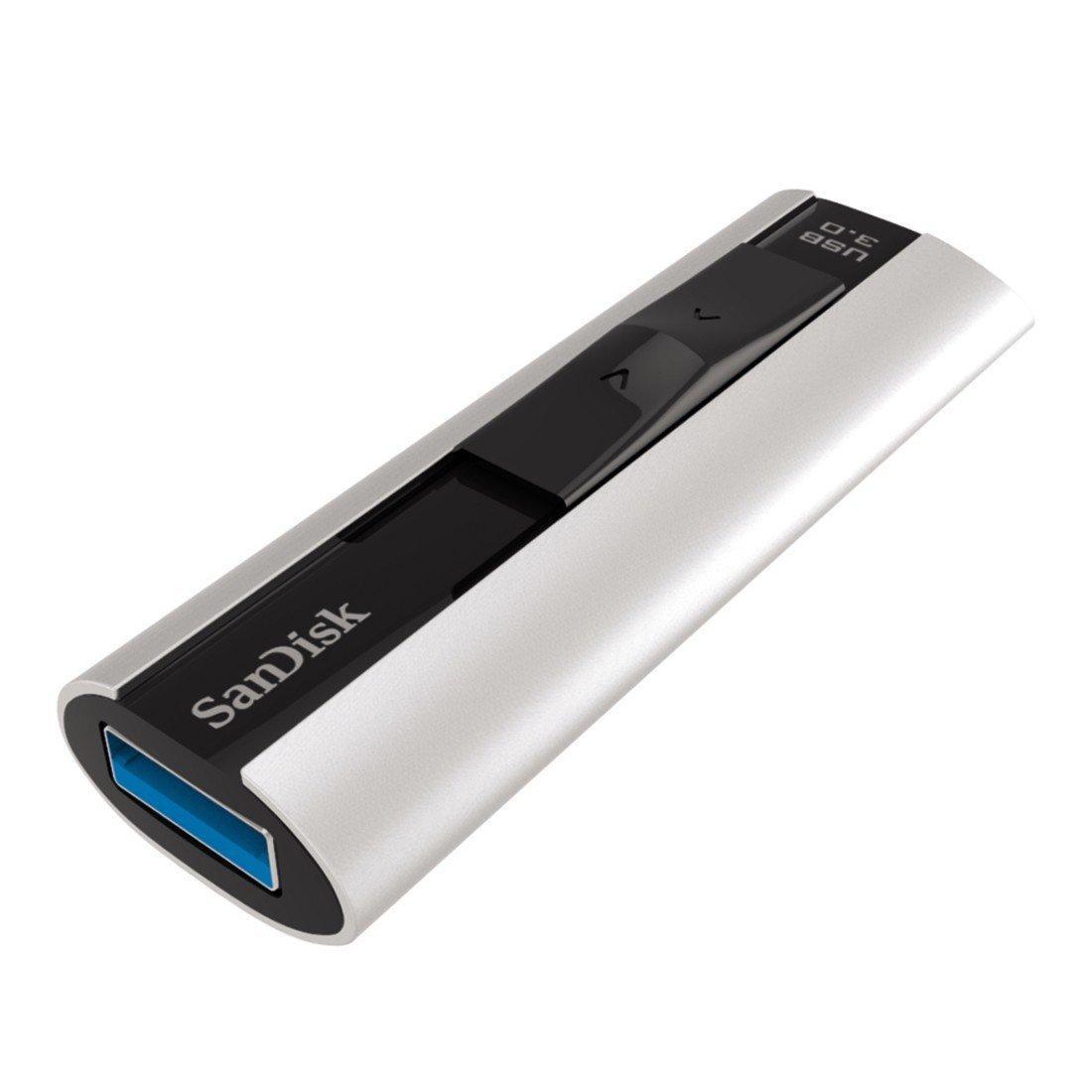 Clé USB 3.0 SanDisk Extreme Pro (240Mo/s en écriture et 260Mo/s en lecture) - 128Go
