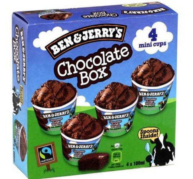 Sélection de Glaces Ben & Jerry's en Promo - Ex: 2 Boites de Mini Cups Crème glacée Chocolate Box
