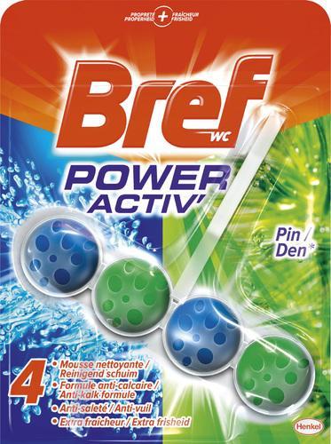 Bloc nettoyant pour WC Bref Power Activ (40% remise immédiate + BDR)
