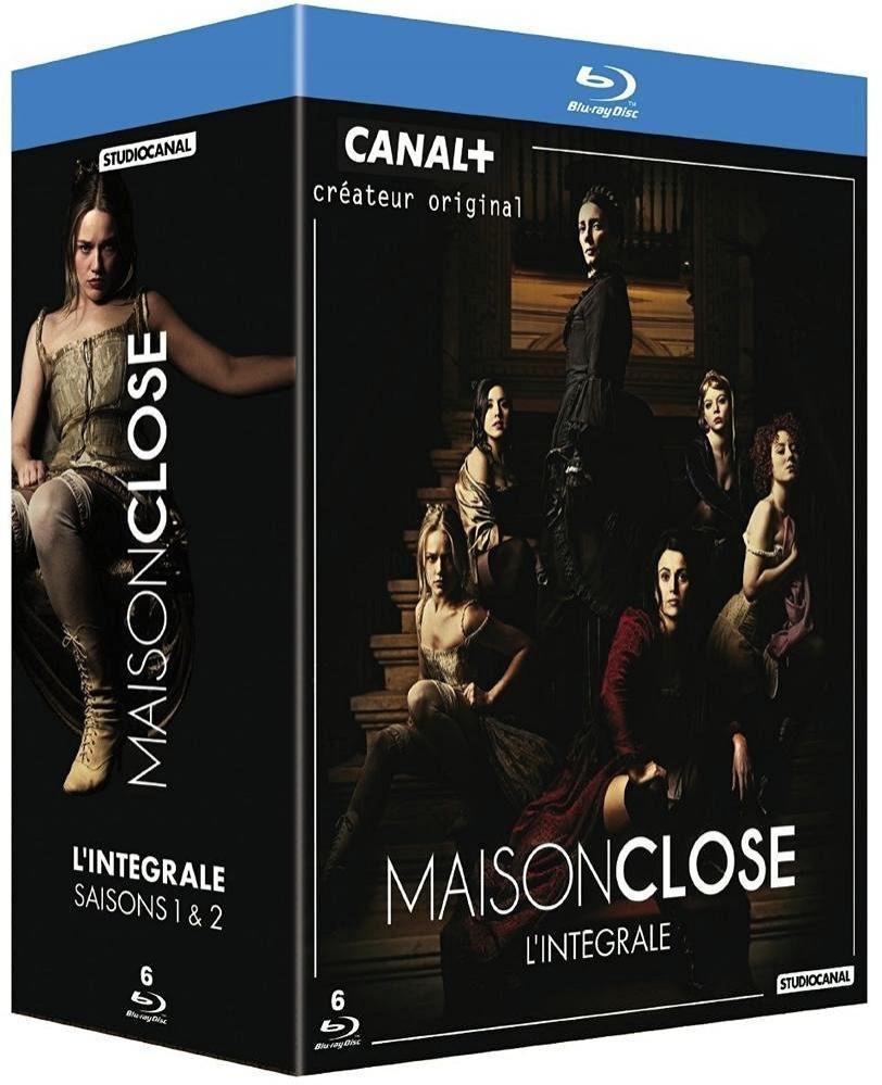 Maison close - Coffret intégral des Saisons 1 et 2 Blu-Ray