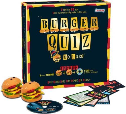 Jeu de société Burger Quiz de luxe