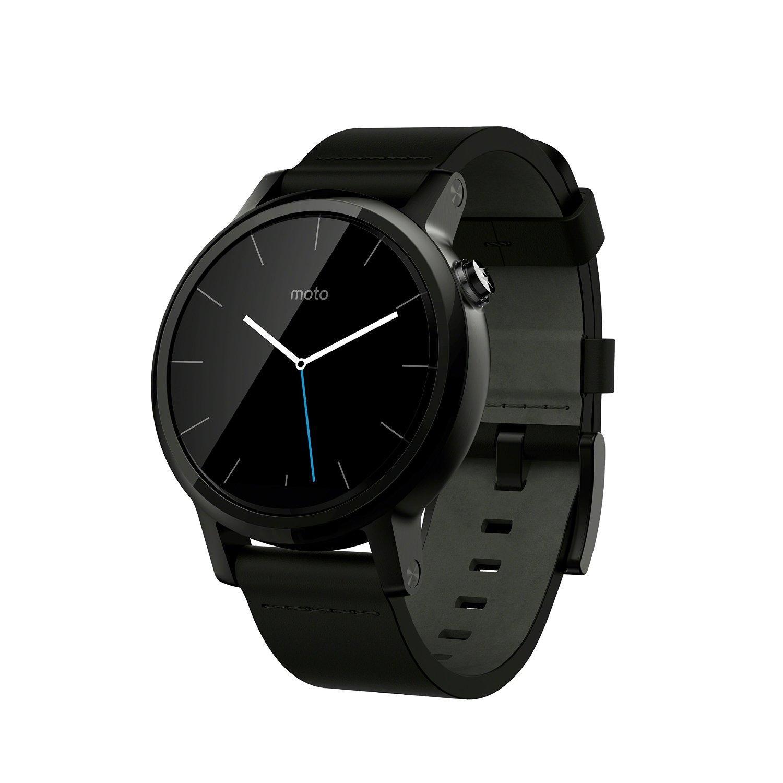 Montre connectée Motorola Moto 360 (2ème génération) Android Wear 42 mm Noir
