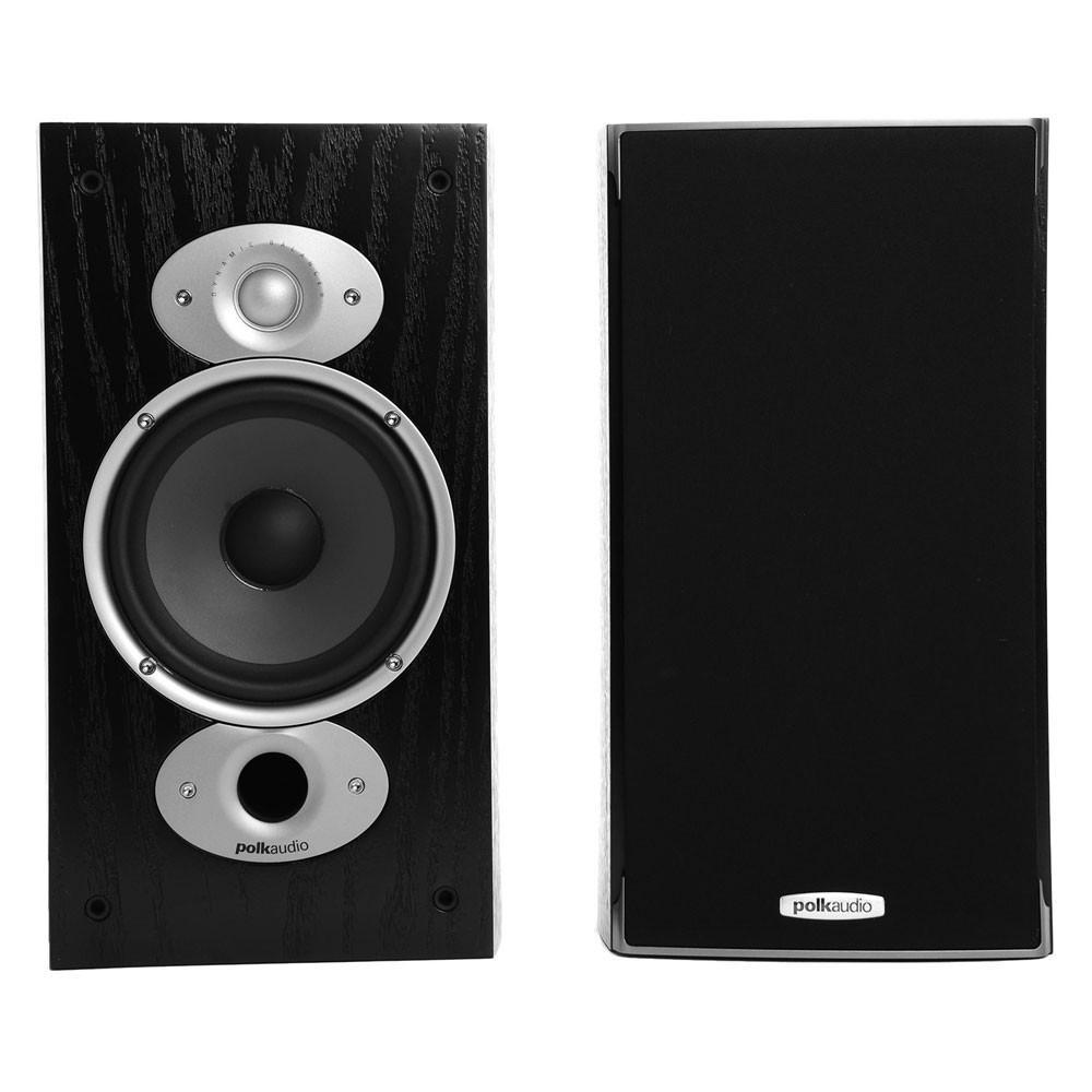 Paire d'Enceintes Bibliothèques à 2 voies Polk Audio RTiA3 Noir - PowerPort Plus Bass, Acoustic Resonance Control, Bi-câblage, HP 16cm (7,25kg chacune)