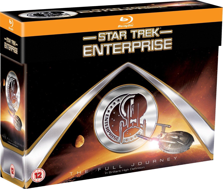 Coffret 24 Blu-ray : Star Trek Enterprise : The Full Journey