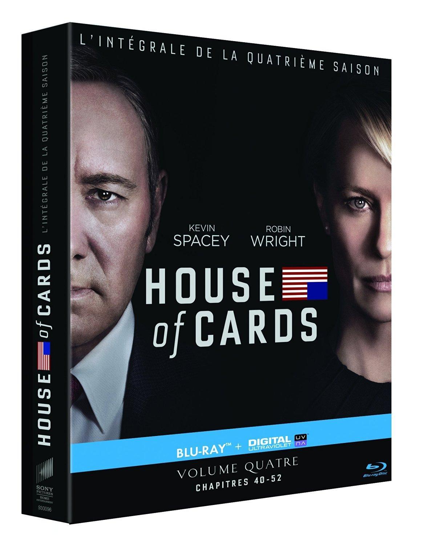 Combo Blu-ray + UltraViolet (Dématérialisé) House of Cards - Saison 4
