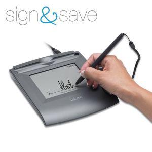 tablette graphique Wacom Sign & save