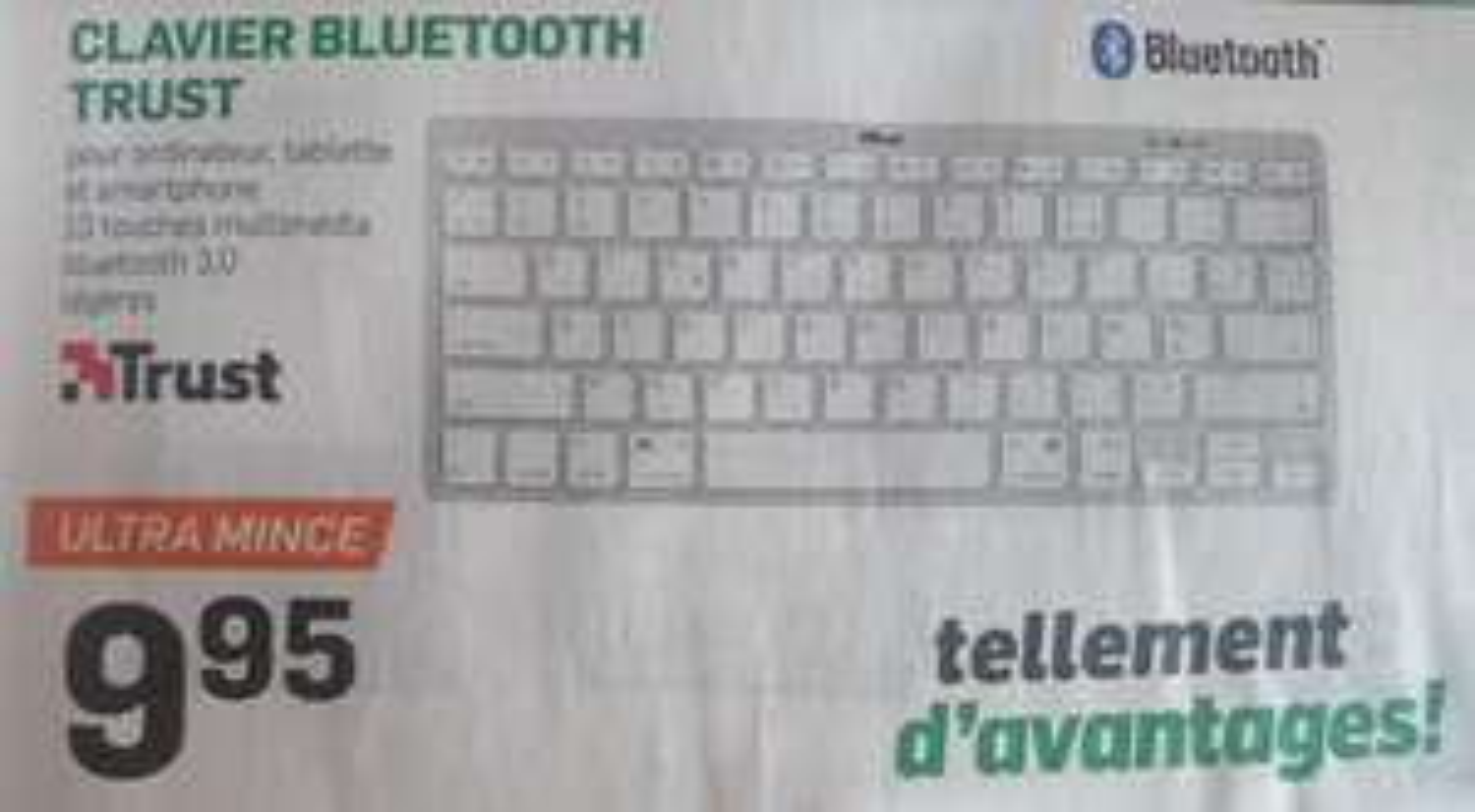 Clavier bluetooth Trust