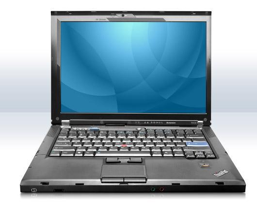 "PC Portable 14"" Lenovo ThinkPad R400 (Intel Core 2 Duo, 4 Go Ram, HDD 160Go, Windows 7 pro - Garantie 1 an) - Reconditionné"