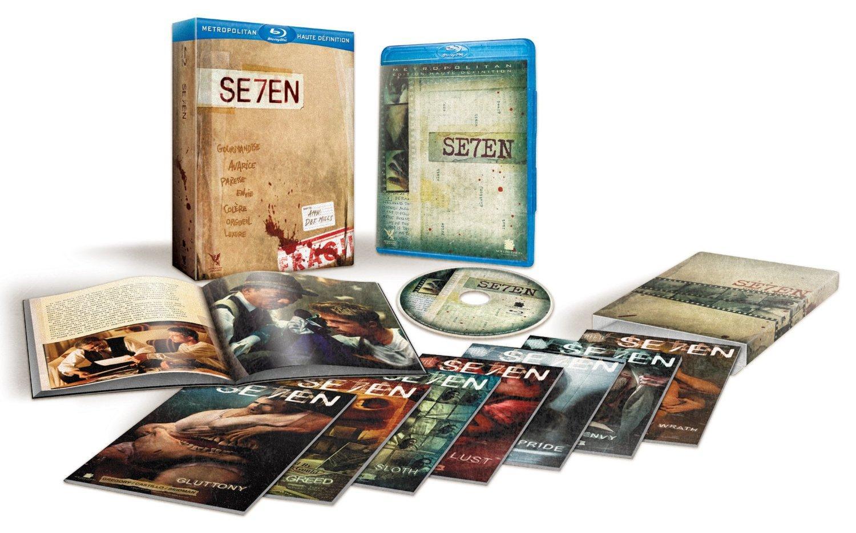 Blu-ray Seven en Édition Collector