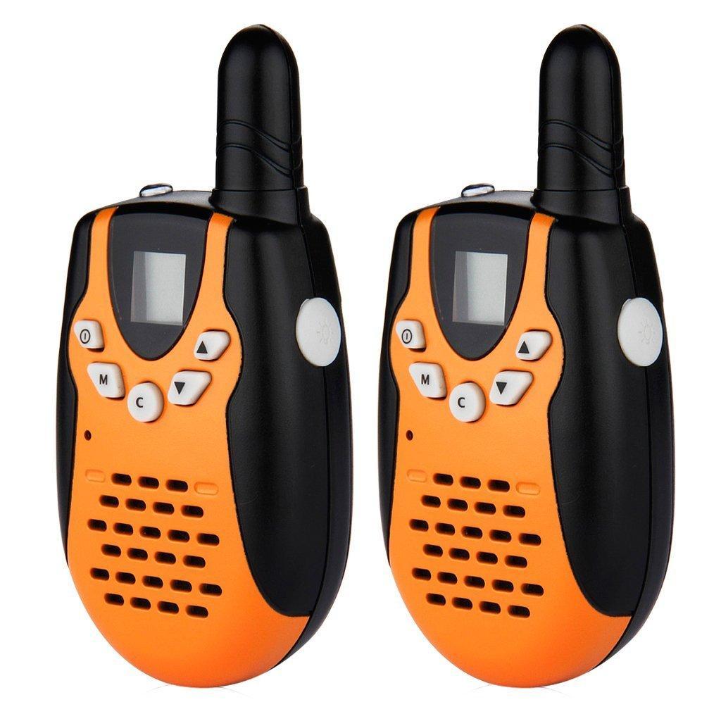 Sélection de Talkies Walkies en promo - Ex : Paire de talkies walkies Floureon UHF400-470MHZ - 8 canaux (3 km)