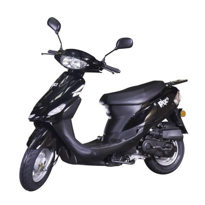 Scooter Beat Box CY50T-6 - 50cc, Noir Brillant