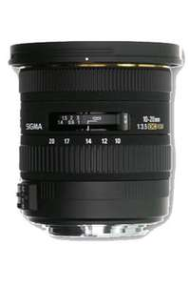 Objectif SIGMA 10-20mm F3.5 HSM Monture Canon/Nikon/Pentax