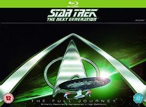 Coffret 41 Blu-ray : Star Trek The Next Generation : The Full Journey (FR)