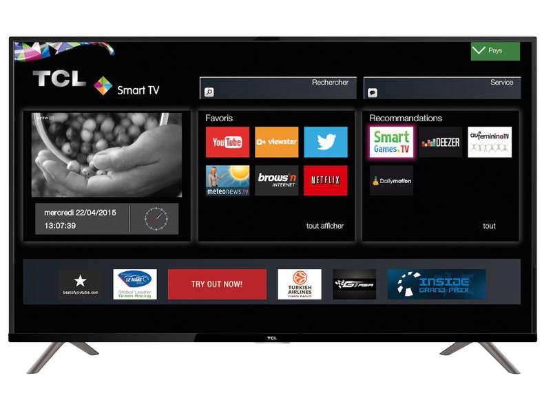 """TV 50"""" TCL U50S6906 - 4K UHD, LED, smart TV"""