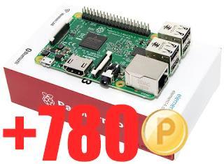 Mini-PC Raspberry Pi 3 - modèle B, 1 Go de RAM + 7.8€ en SuperPoints