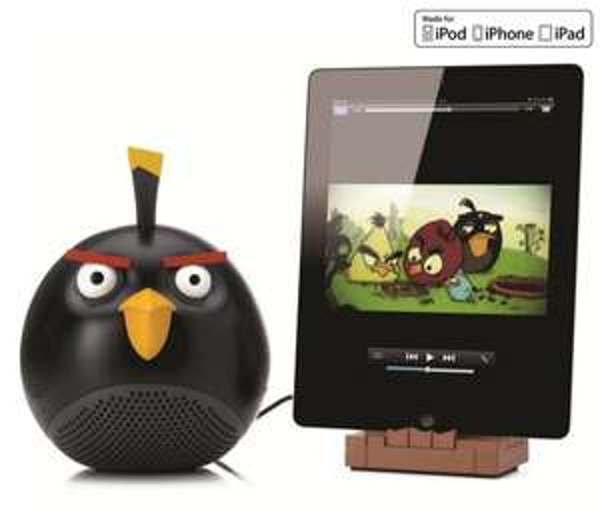 Enceinte Angry Birds Black Bird pour Ipod, Ipad ...