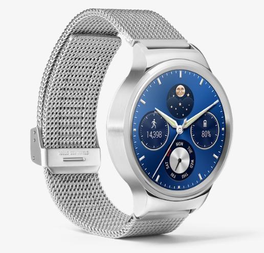 Montre connectée Huawei Watch - Silver