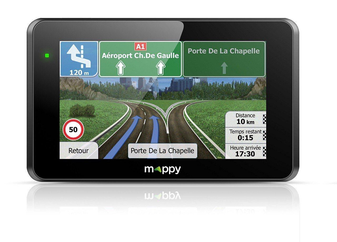 "GPS 4.3"" Mappy ITI E421 S"