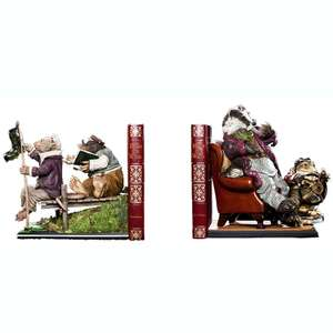 Statuette The Wind In The Willows Bookends : Le vent dans les saules - Livraison incluse