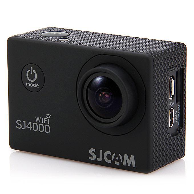 Caméra sportive SJCAM SJ4000 - Full HD, Wifi, Noir ou Blanc