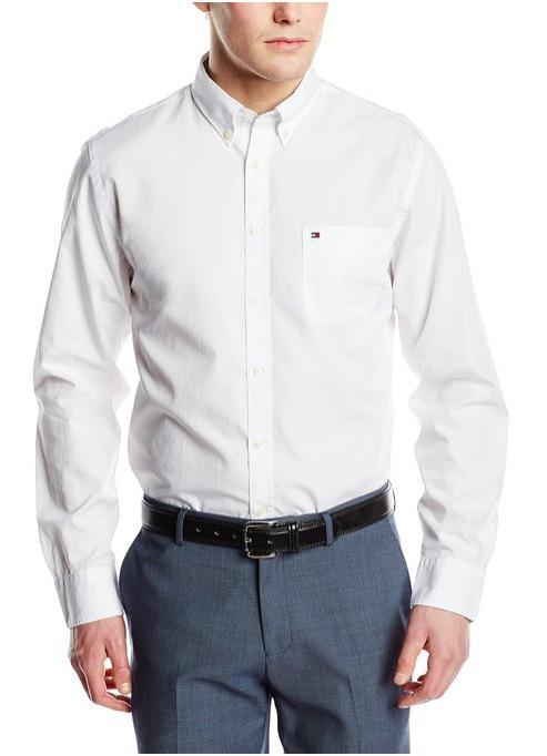 Chemise Tommy Hilfiger pour Homme - Blanc (Taille S à XL)