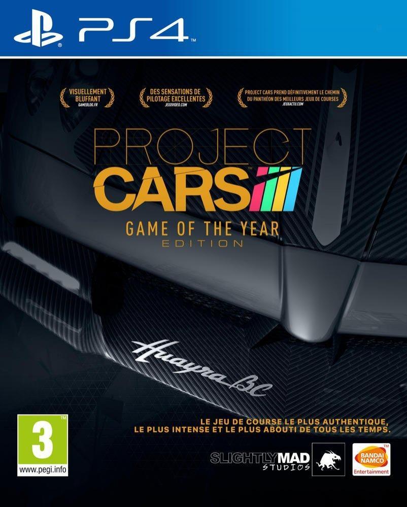 Projects Cars Edition Jeu de l'année sur PS4