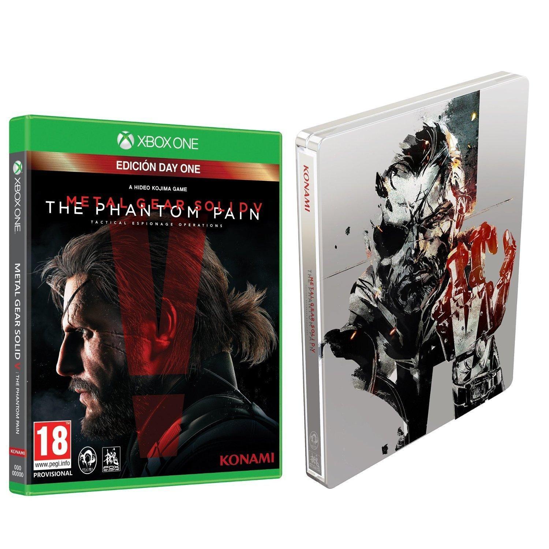 Metal Gear Solid V: Phantom Pain - Day One Edition + Steelbook sur XboxOne