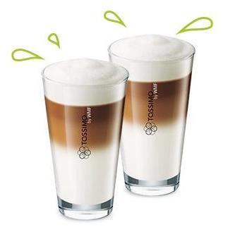 2 verres Latte Macchiato offerts dès 40€ d'achat