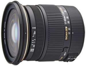 Objectif Sigma 17-50 mm F2,8 DC OS HSM EX - Monture Canon