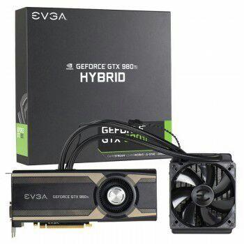 Carte graphique EVGA GeForce GTX 980 Ti HYBRID - 6 Go