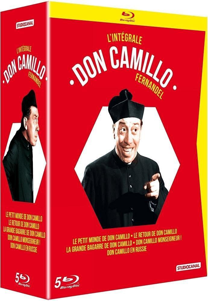 Coffret Blu-Ray Don Camillo - L'intégrale