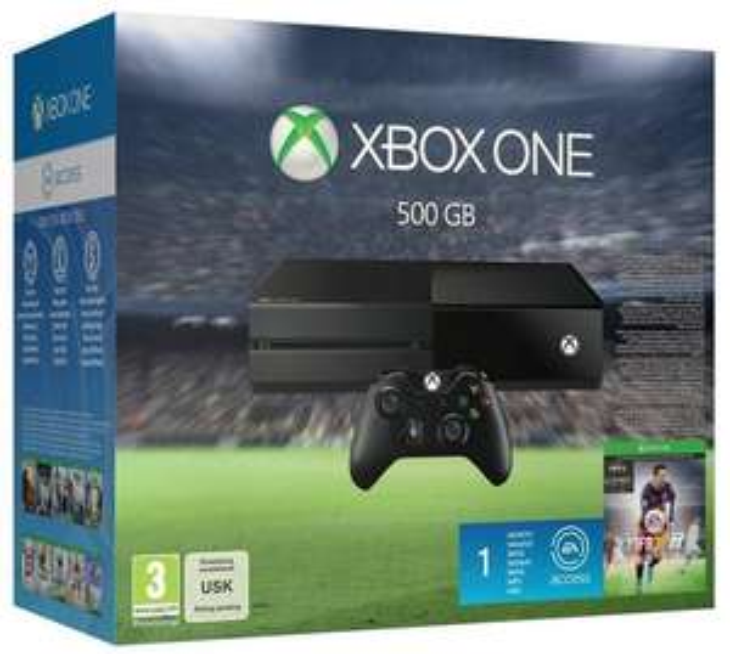 Console Microsoft Xbox One - 500Go + Fifa 16 + 1 mois EA Access