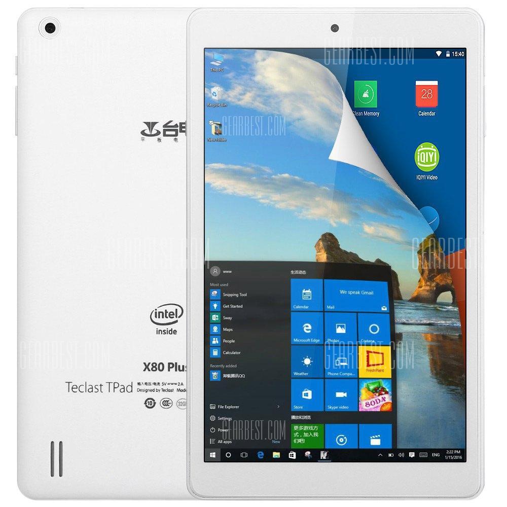 """Tablette 8"""" Teclast X80 Plus - DualBoot, RAM 2 Go, ROM 32 Go"""