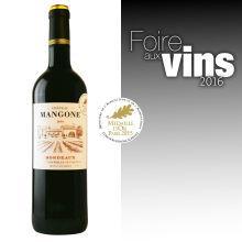 Vin rouge Bordeaux AOP Médaille d'Or Paris 2015