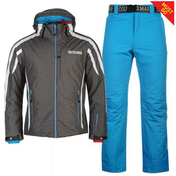Ensemble Colmar S2NY pour Homme - Verte + Pantalon de Ski