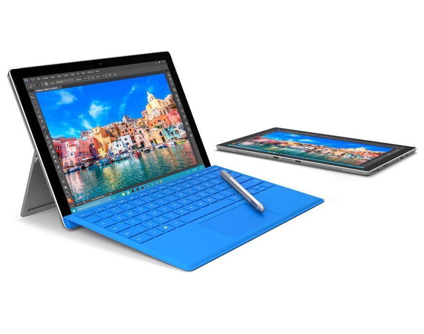 "Tablette 12.3"" Microsoft Surface Pro 4 - (i5, 8 Go Ram , 256 Go SSD) + Microsoft Clavier Type Cover + Office 365 Personnel + 200€ offerts en carte cadeau"