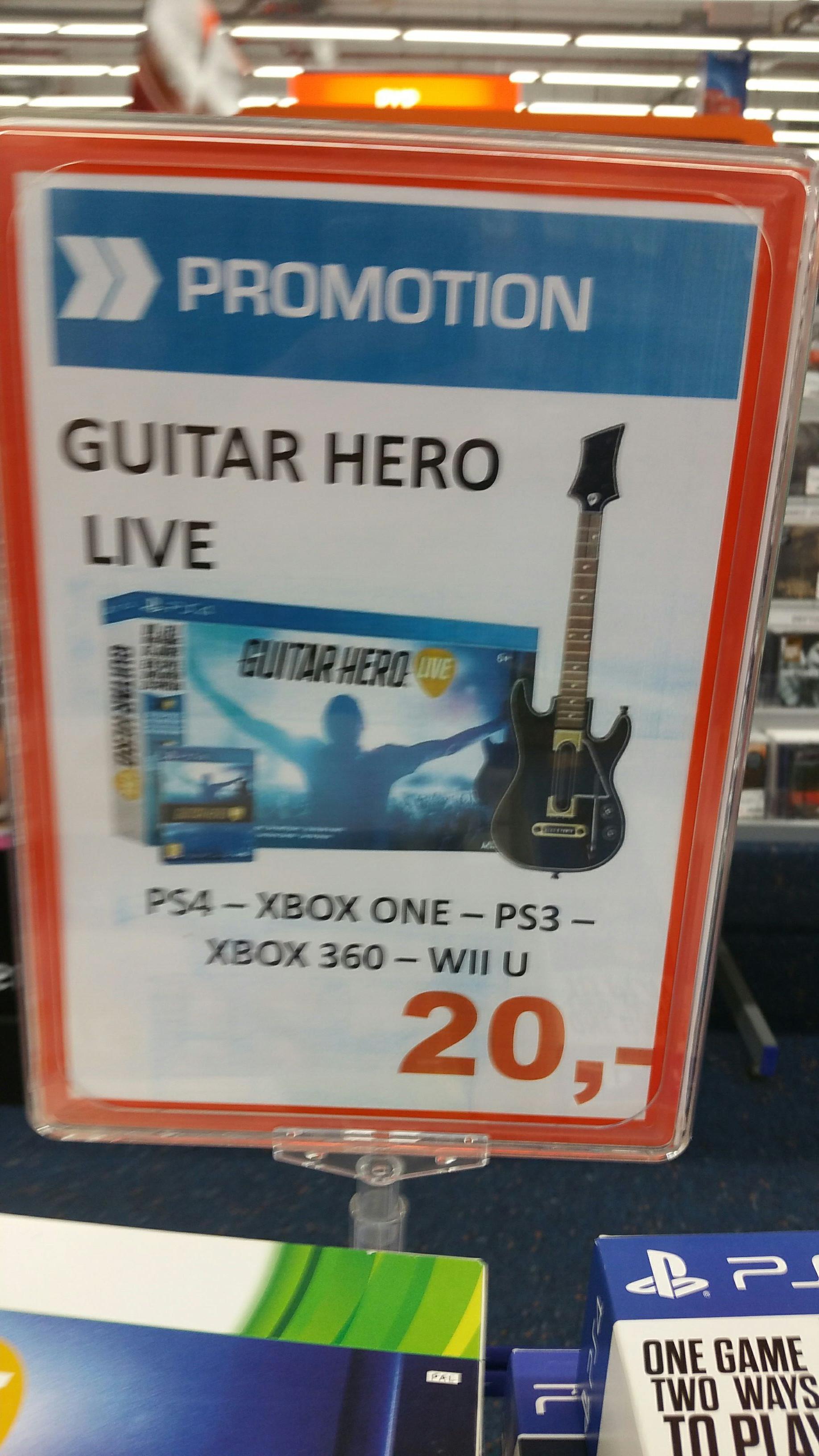 Guitare hero live sur toute les plateformes