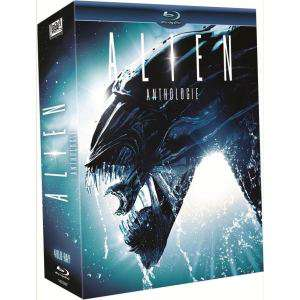 Coffret blu-ray Alien Anthology (4 disques)