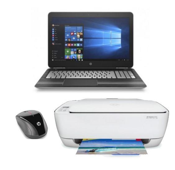 """PC Portable 15.6"""" HP 15-BC011NF - FHD, i7-6700HQ, Ram 6Go, 1To, GTX 950M + Souris Sans-fil + Imprimante Deskjet 3630 (Via ODR 150€)"""