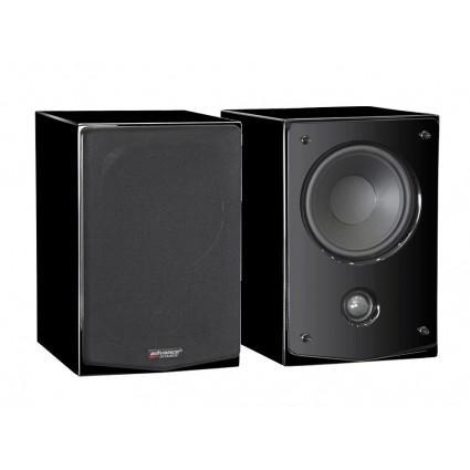 Paire d'enceintes bibliothèque Advance Acoustic K3S - noir (bass-reflex à 2 voies, 55 Hz à 22 kHz, 89 db, 8 ohm)