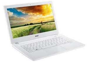 "Utraportable Acer  Aspire V3-372T-36TU 13.3"" IPS full HD tactile - i3-6100U, 8 Go, 500 Go Hybride"