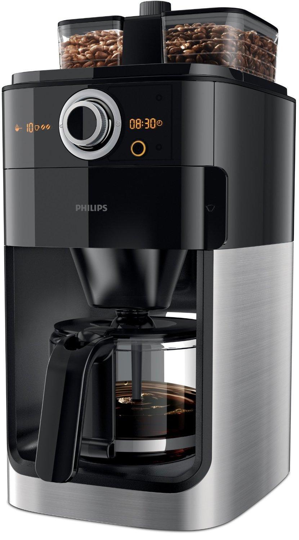 Cafetière filtre avec broyeur Philips HD7766/00 Grind&Brew
