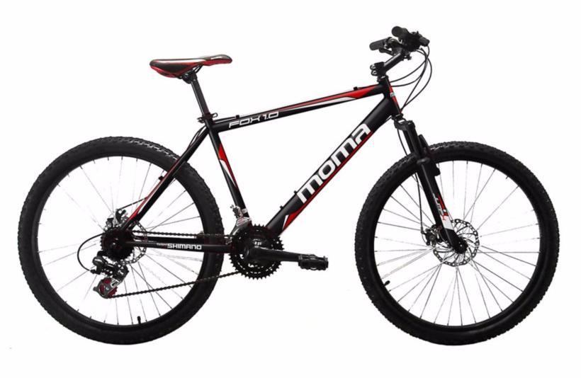 "Vélo tout-terrain Moma Fox 1.0 (Shimano TX-35 Tourney 21 vitesses, Jantes 26"")"