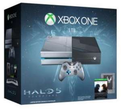 Console Microsoft Xbox One Édition Limitée 1 To + Halo 5 Guardians