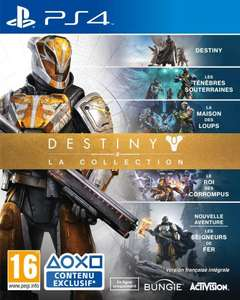 Precommande :  Jeu Destiny : La Collection sur PS4 ou Xbox One