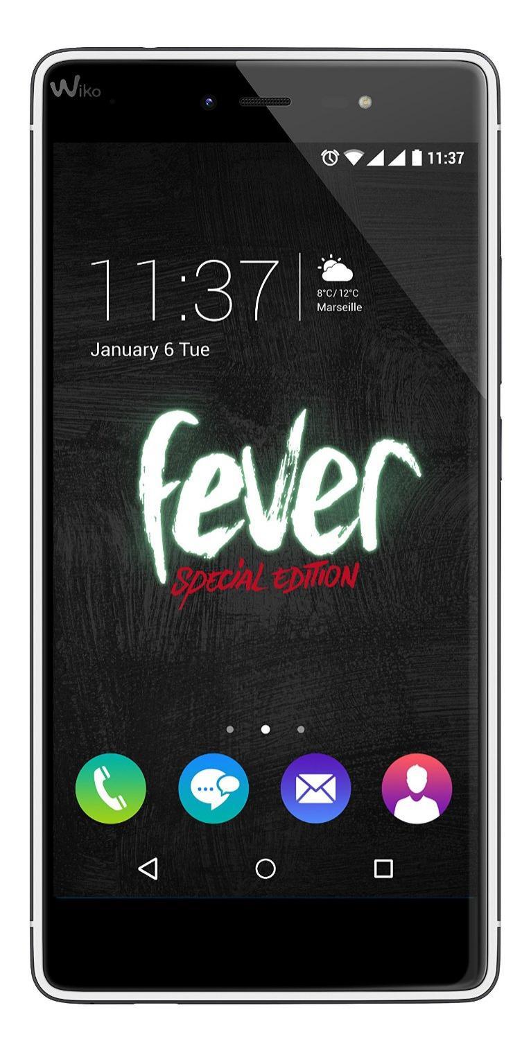 """Smartphone 5.2"""" Wiko Fever 32 Go Spécial Édition"""